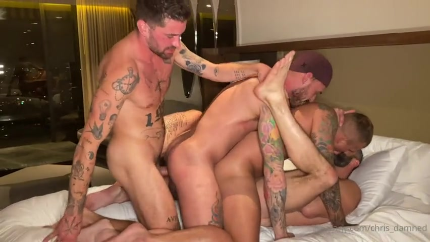 West Hollywood Hotel Orgy Part 2 - Vince Parker - Jake Nicola - LoveIsaacX - Beau Butler - Chad Hammer (Homowithahammer) - Cole Connor - Chris Damned
