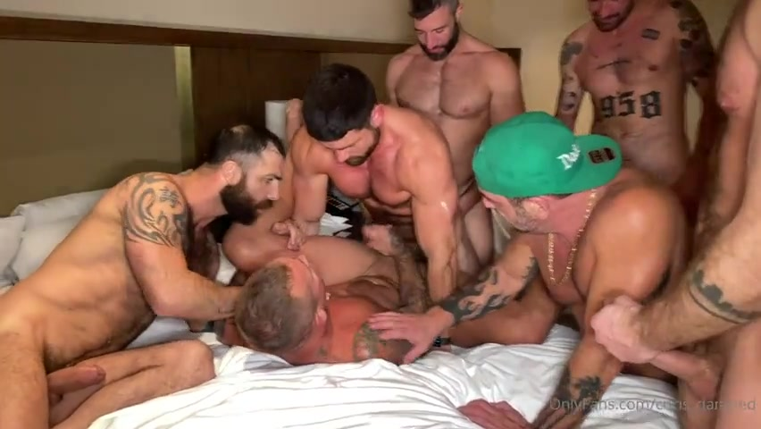 West Hollywood Hotel Orgy Part 3 - Vince Parker - Jake Nicola - LoveIsaacX - Beau Butler - Chad Hammer (Homowithahammer) - Cole Connor - Chris Damned