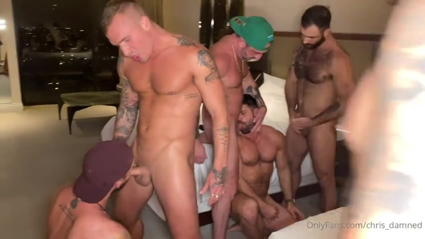 West Hollywood Hotel Orgy Part 1 - Vince Parker - Jake Nicola - LoveIsaacX - Beau Butler - Chad Hammer (Homowithahammer) - Cole Connor - Chris Damned