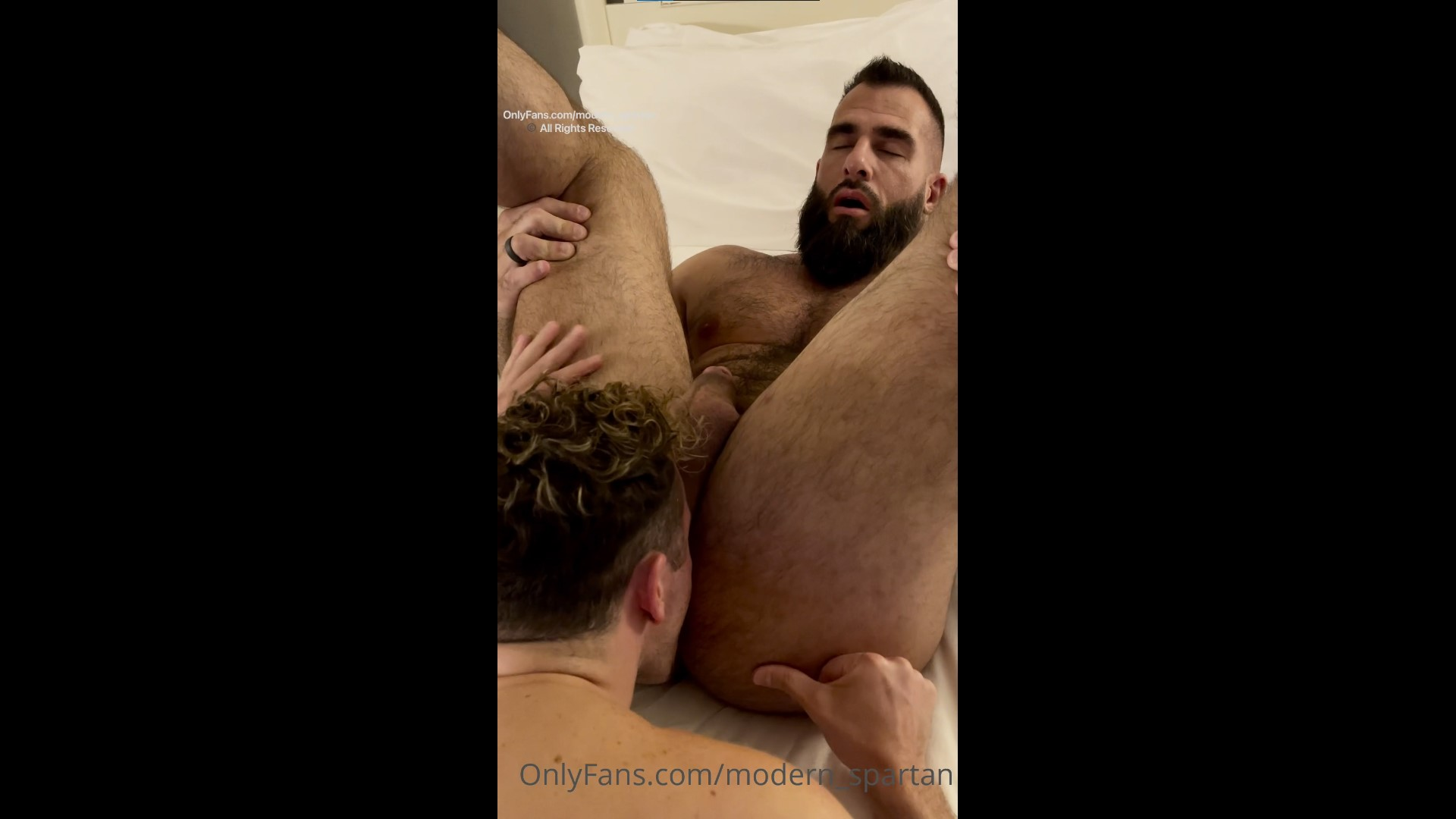 Rimming and playing with Nick's ass till he cums - Nick Pulos (Modern_spartan) - Max Richards (jerk_circus)