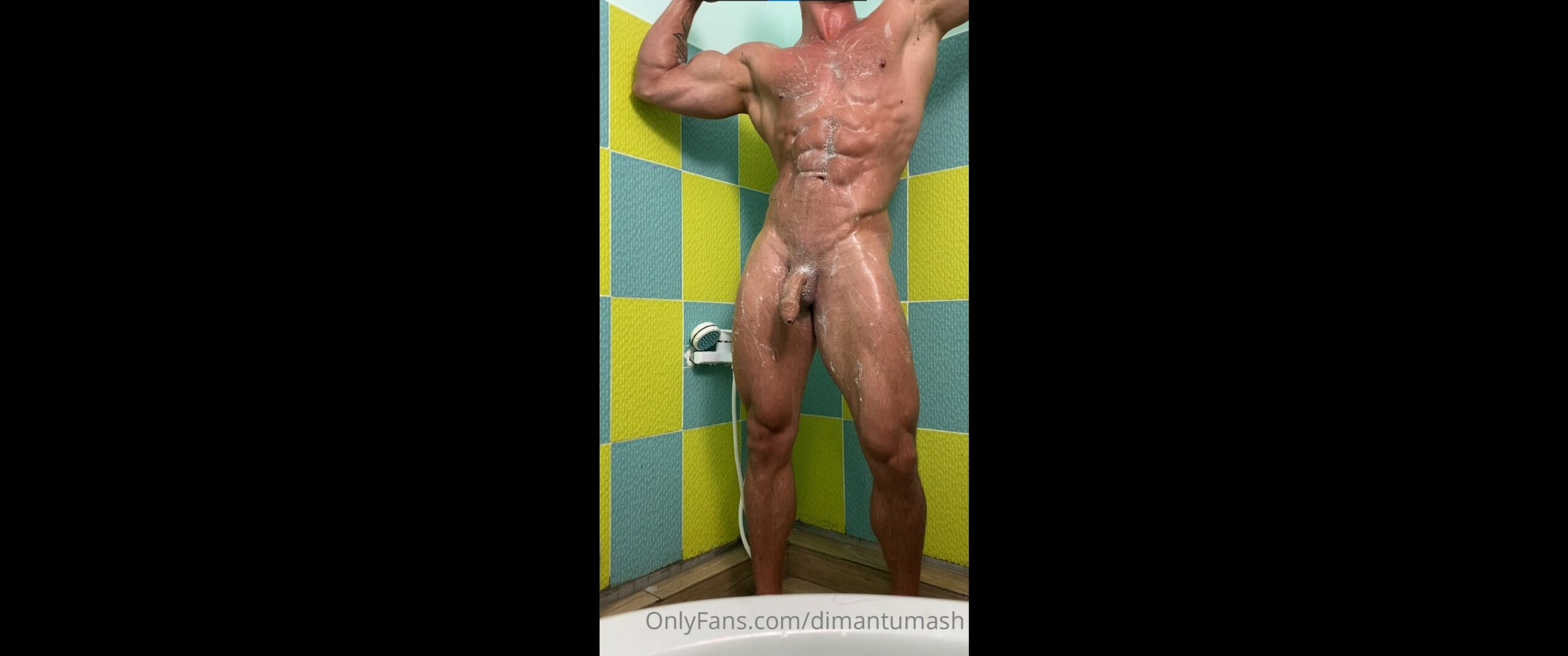 Having a shower and jerking my cock - Dmitry Tumash (dimantumash)