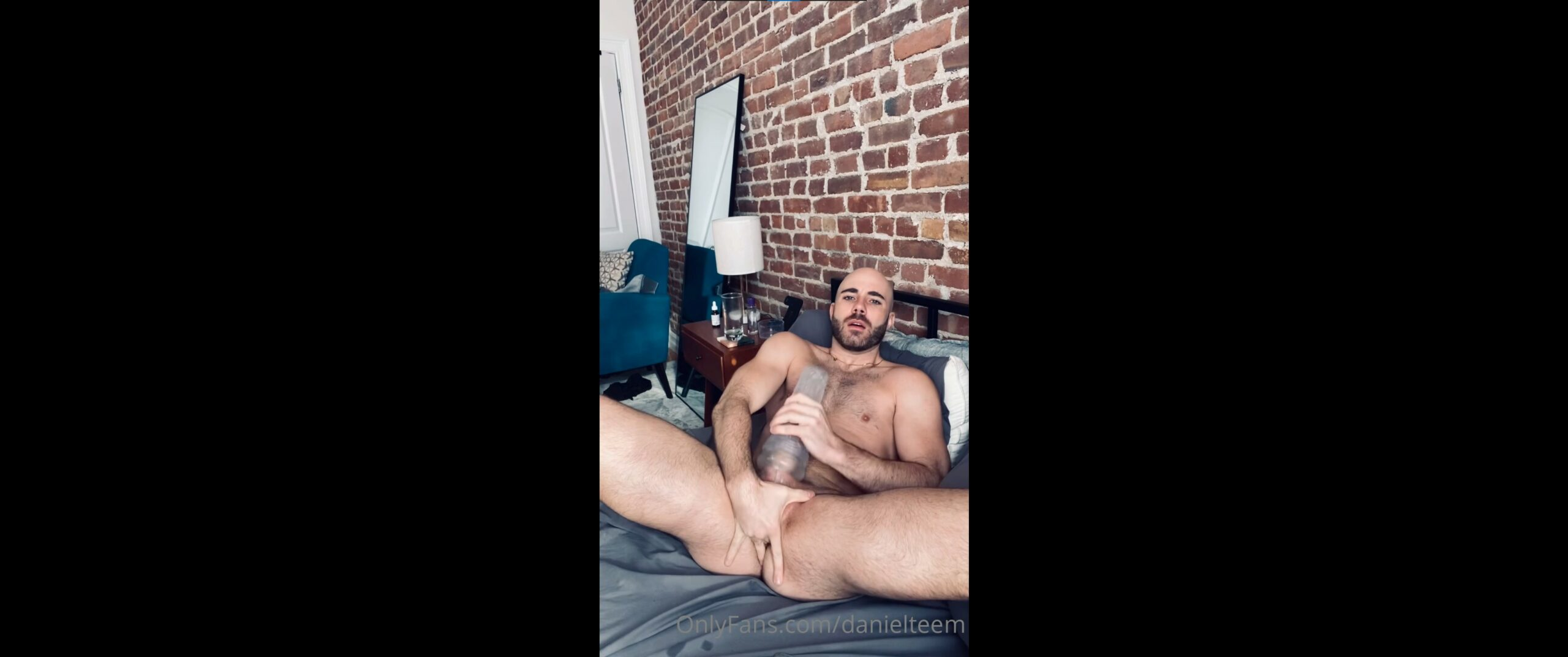 Fucking my Fleshlight while playing with my ass and shooting a load over myself - Danielteem